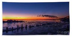 Voilet Morning Beach Towel