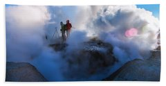 Volcanic Activity, Altiplano, Bolivia Beach Towel