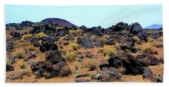 Volcanic Field Beach Towel