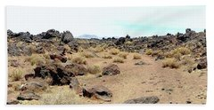 Volcanic Field Panorama Beach Towel