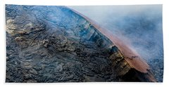 Beach Sheet featuring the photograph Volcanic Ridge by M G Whittingham