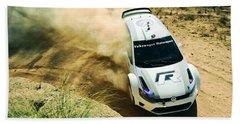 Volkswagen Polo Rally Beach Towel