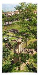 Volterra's Roman Ruins Beach Towel