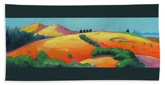 Voluptuous Windy Hill Beach Towel