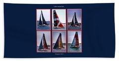 Volvo Ocean Race Newport 2015 Beach Sheet by Tom Prendergast