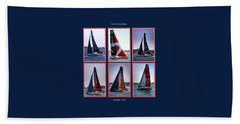 Volvo Ocean Race Newport 2015 Beach Towel