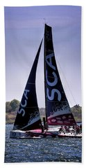 Volvo Ocean Race Team Sca Beach Towel