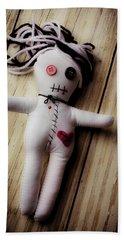 Voodoo Doll Beach Towel