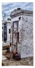 Voodoo Queen Marie Laveau's Tomb Beach Towel