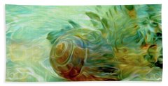 Beach Towel featuring the mixed media Vortex 8 by Lynda Lehmann