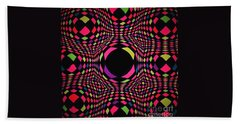 Vortex Beach Towel