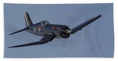 Vought Corsair Beach Towel