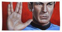 Vulcan Farewell Beach Towel