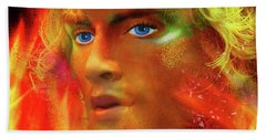 Beach Towel featuring the photograph Vulcan by LemonArt Photography