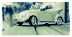Vw Beetle Convertible Beach Towel