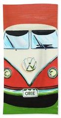 Vw-bus-obie Beach Towel