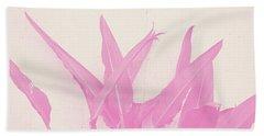Wabi Sabi Garden 1- Art By Linda Woods Beach Towel
