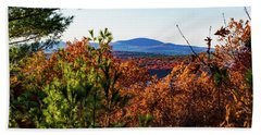 Wachusett In Fall Beach Towel