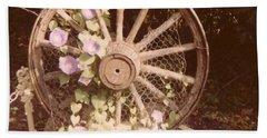 Wagon Wheel Memoir Beach Sheet
