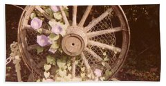 Wagon Wheel Memoir Beach Sheet