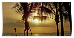 Waikiki Sunset Beach Towel