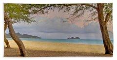 Waimanalo Beach Beach Towel