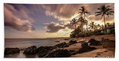 Wainiha Kauai Hawaii Sunrise  Beach Towel
