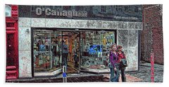 Beach Towel featuring the photograph Waiting By O' Callaghans by Dave Luebbert