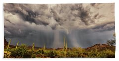 Beach Towel featuring the photograph Waiting For Rain by Rick Furmanek