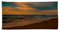 Waiting On The Dawn Beach Sheet