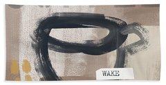 Wake My Soul- Art By Linda Woods Beach Towel