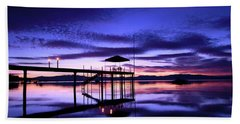 Wake Up To The Dawn Beach Towel by Sean Sarsfield