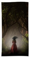 Walk In The Magic Forrest Beach Towel