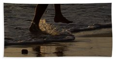 Walk On Water Beach Towel