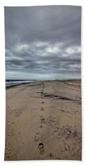 Walk The Line Beach Towel