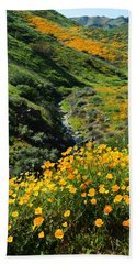 Beach Towel featuring the photograph Walker Canyon Vista by Glenn McCarthy Art and Photography