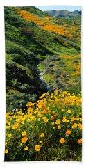 Beach Sheet featuring the photograph Walker Canyon Vista by Glenn McCarthy Art and Photography