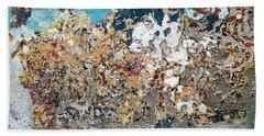 Wall Abstract 106 Beach Towel