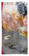 Wall Abstract 151 Beach Sheet by Maria Huntley