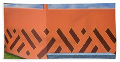 Beach Towel featuring the photograph Wall With A View by Paul Wear