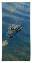 Wally The Gator Beach Towel