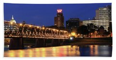Walnut Street Bridge Beach Towel