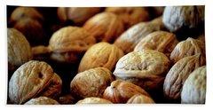 Walnuts Ready For Baking Beach Sheet