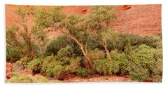 Beach Towel featuring the photograph Walpa Gorge 03 by Werner Padarin