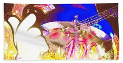 Beach Towel featuring the digital art Walt Disney World 100 Years Of Magic Celebration 2001-2002 by A Gurmankin