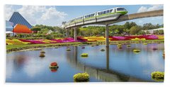 Walt Disney World Epcot Flower Festival Beach Towel