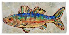 Walter The Walleye Beach Towel