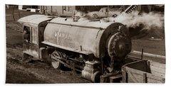 Wanamie Pennsylvania Coal Mine Locomotive Lokey 1969... Beach Sheet