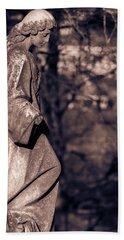 Wandering Lady Of Myrtle Hill Bw Beach Towel