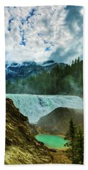 Wapta Falls 3 Beach Towel